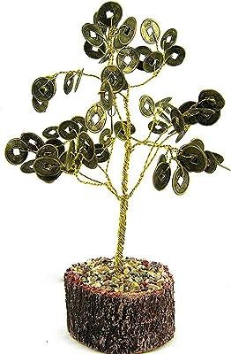 eshoppee Coin Tree Wealth Money Tree Wooden Base (Coin Tree, 1 pcs)