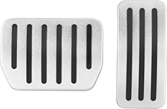Anti-Slip Gas Brake Pedal, Auto Aluminium Accelerator Brake Pedal Cover for Model 3(A Set of 2) (Model 3)