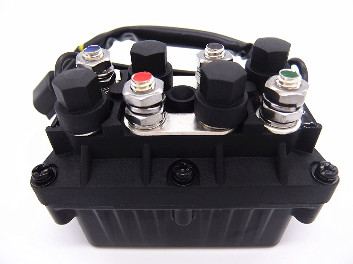 Boat Motor Relay Assy 61A-81950-00-00 for Yamaha 25hp - 250hp ET PPT Outboard Motors , 3 Pins