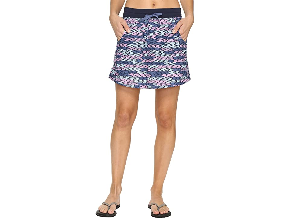 The North Face Class V Skort (Coastal Fjord Blue Painted Ikat Print (Prior Season)) Women