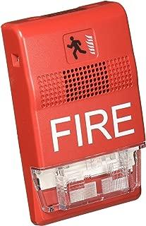 Edwards Signaling EG1RF-HDVM HRN Strobe, Hi-Lo, MC, Red, Fire