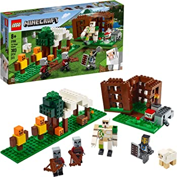 74 Pieces LEGO Minecraft The Taiga Adventure 21162 Brick Building Toy for Kids Who Love Minecraft and Imaginative Play New 2020