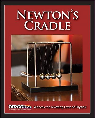 TEDCO Newton's Cradle, 8 x 3 x 7 by TEDCO
