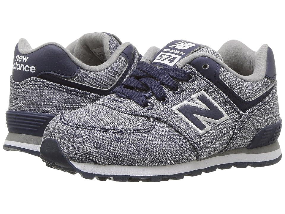 New Balance Kids KL574v1 (Infant/Toddler) (Blue/White 2) Boys Shoes