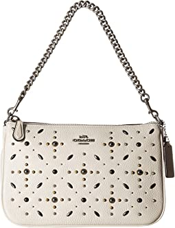 COACH - Nolita Wristlet 19 with Prairie Rivets Detail