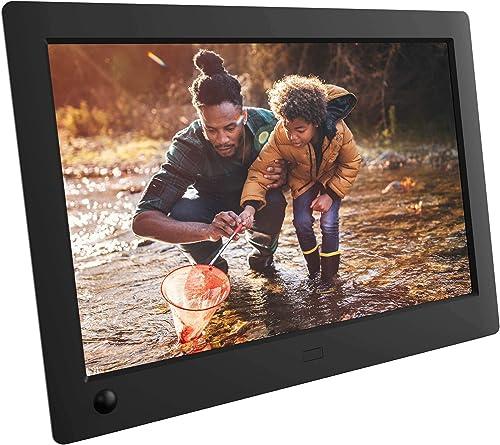NIX Advance 8 Inch USB Digital Photo Frame Widescreen - HD IPS Display, Auto-rotate, Motion Sensor, Remote Control - ...