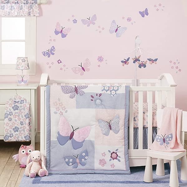 Bedtime Originals Butterfly Meadow Bedding Set 3 Piece