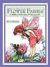 cicely Mary barker من الزهور fairies في شريط تطريز & stumpwork