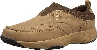 Propet Women's W3851 Wash & Wear Slip-on II Slip Resistant Sneaker Walking Shoe, Sr Mushroom Nubuck, 8 X-Wide