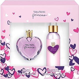 Vera Wang Princess 2-Piece Gift Set with 1-Ounce Eau de Toilette and 4-Ounce Body Mist, Total Retail Value $58.00