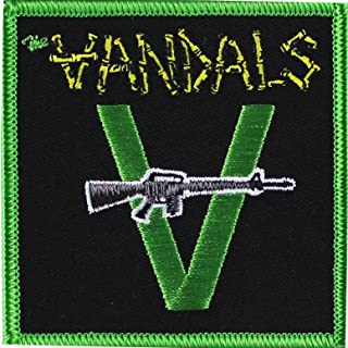 The Vandals With Gun Officially Licensed Original Artwork Iron-On/Sew-On PATCH
