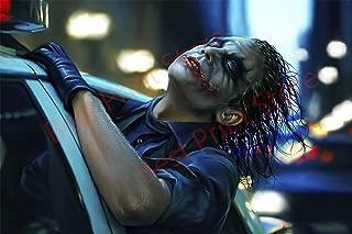 Best Print Store - Heath Ledger Inspired, The Dark Knight Movie Joker Poster (24x36 inches)