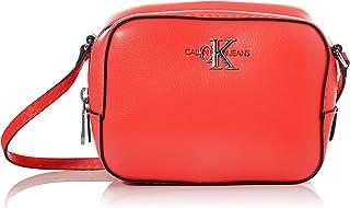 Calvin Klein Jeans Mono Hardware Camera Bag Luggage & Travel Gear, Red, 16 cm - K60K606567
