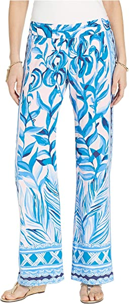 Pink Tropics Tint Heat Wave Engineered Pants