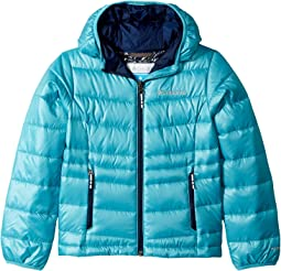 Columbia Kids Gold 550 TurboDown™ Hooded Down Jacket (Little Kids/Big Kids)