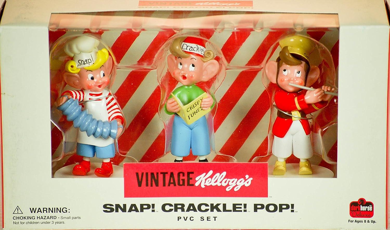 Kellogs Snap Crackle Pop PVC Set by Diamond Comic Distributors