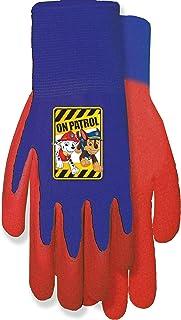 Midwest Gloves & Gear PW100TK0 Paw Patrol Gripping Glove, Red/Blue