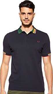 Fred Perry Men's Abstract Collar Shirt