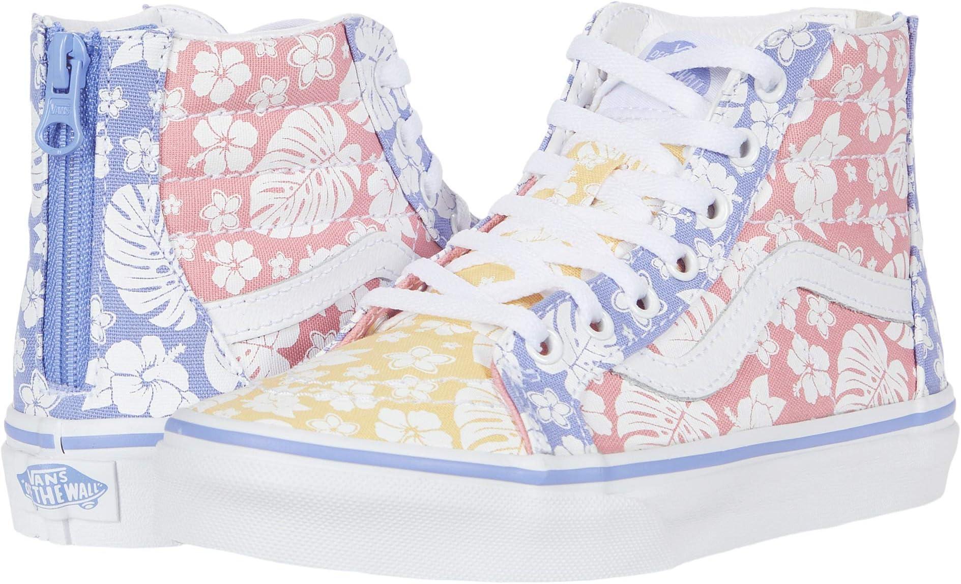 Vans® Kids SK8-Hi Zip Hawaiian Floral Sneaker