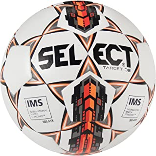 Select Sport America Target Db Soccer Ball, Size 5, White/Red