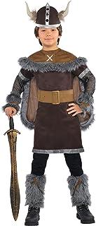 Amscan International - Disfraz Viking Warrior para niños, 4-6 años (999661)