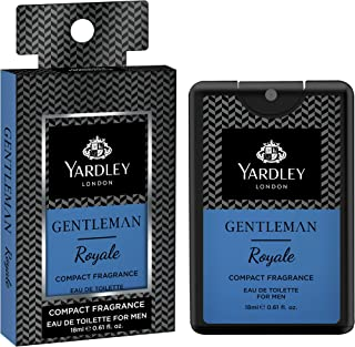 Yardley London Gentleman Royale Compact Perfume, 18ml