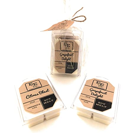 Handmade with all natural scented soy wax Pacific Breeze Wax Melts  Wax Tarts