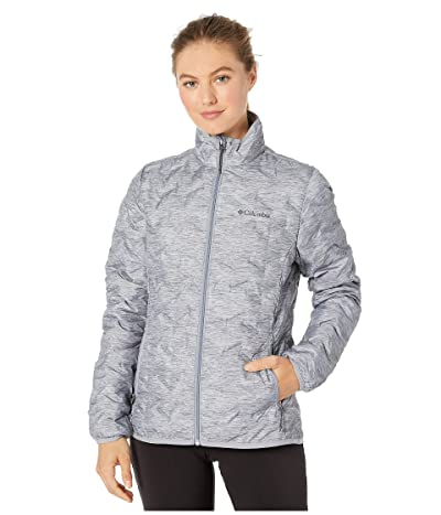Columbia Delta Ridge Down Jacket (Tradewinds Grey/Heather Print) Women