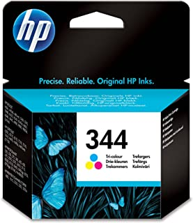 HP C9363EE 344 Original Ink Cartridge, Tri-Colour, Single Pack