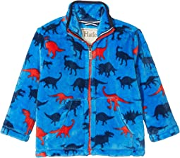 Hatley Kids - Silhouette Dino Fuzzy Fleece Jacket (Toddler/Little Kids/Big Kids)