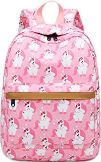 Kids Backpack Preschool Backpack for Boys Girls Kindergarten Bookbag Water Resistant (Pink)