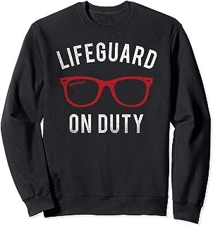 Baywatch Lifeguard on Duty Sweatshirt