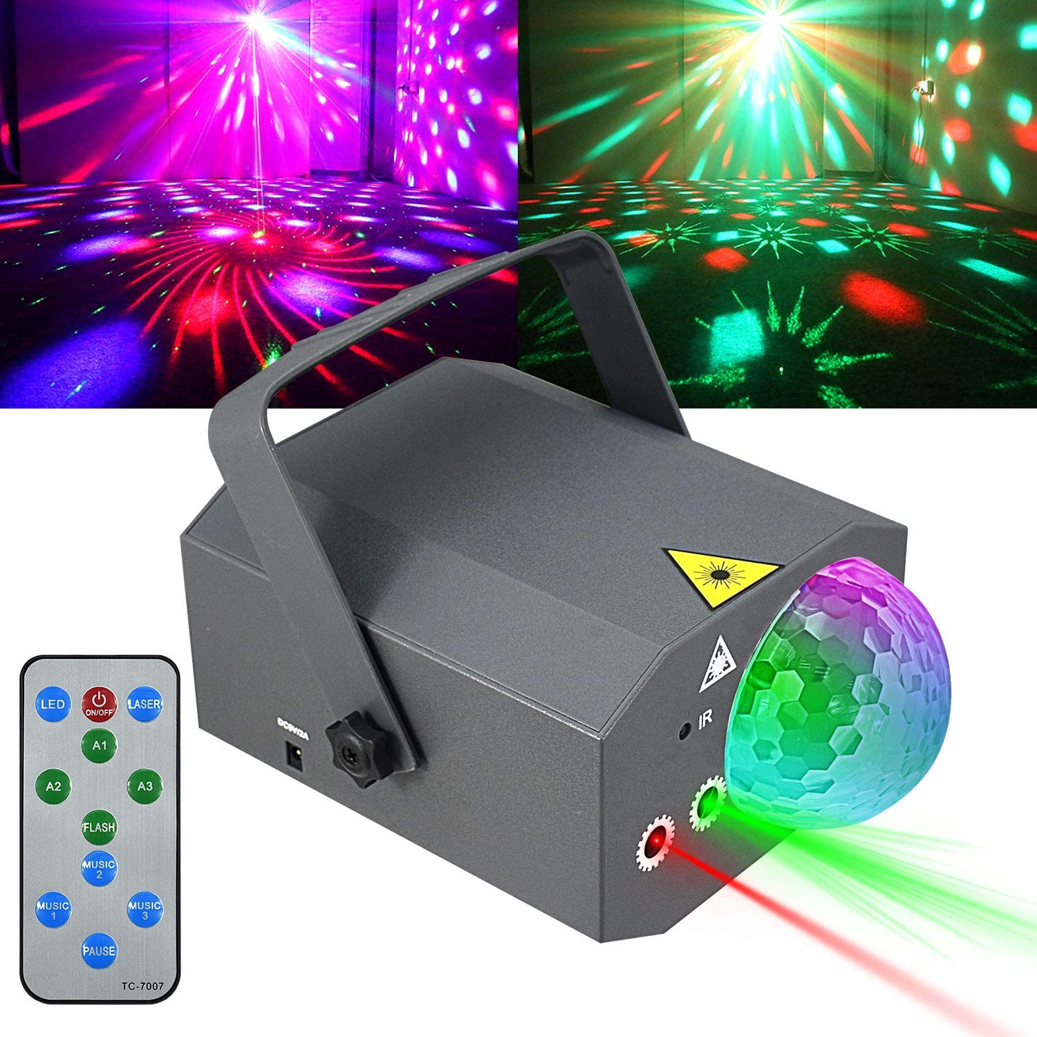 Party Lights Disco Ball Strobe Stage Li Animer and price revision Fort Worth Mall Projector Kuniwa