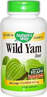 Nature's Way Wild Yam, 180 Vegetarian Capsules
