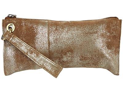 Hobo Vida (Gilded Leaf Vintage Hide) Clutch Handbags