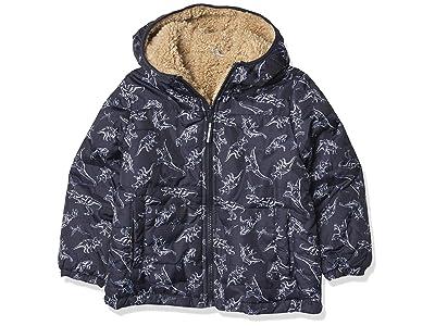 London Fog Reversible Fleece-to-poly Jacket
