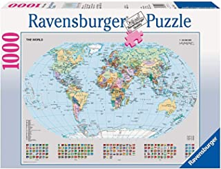 Ravensburger 15652 Political World Map - 1000 Piece Puzzle Puzzle