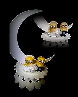 DESPICABLE ME MINIONS WEDDING CAKE TOPPER UNIQUE