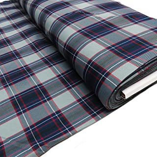 "Uniform Plaid Fabric - 60"" Wide 