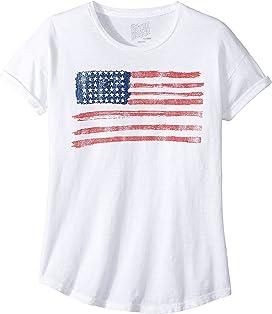 4c5707d4 The Original Retro Brand Kids No Bad Days Rolled Sleeve Slub T-Shirt ...