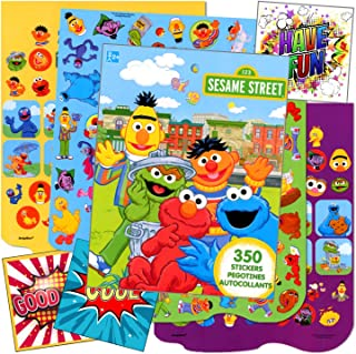 Sesame Street Stickers With Reward Stickers Bundle Includes With 3 Specialty Separately Licensed GWW Reward Stickers