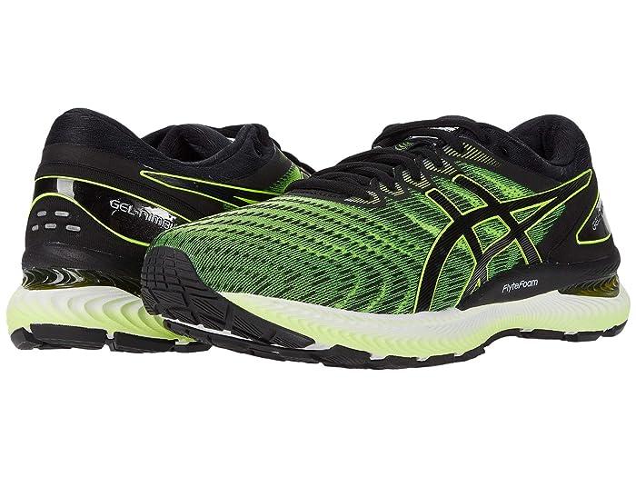 ASICS  GEL-Nimbus 22 (Safety YellowithBlack) Mens Running Shoes
