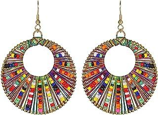 Frolics India Oxidised Silver Dangle & Drop Earrings For Women