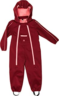 ELKA Baby Softshell Overall Softshell in 2 Colours Size 80 - 104 Waterproof and Water-Repellent Hydrostatic Head 3000 mm Breathability 3000 g/m2/24h