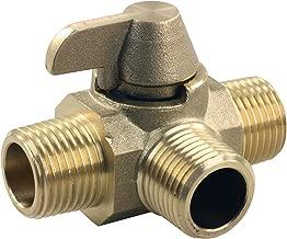 JR Products 62255 3-Way Brass Diverter Valve - 1/2