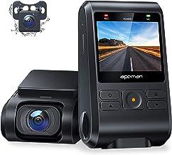 APEMAN Dual Dashcam C550, Vorne und Hinten Versteckten Autokamera, 1080P FHD IPS..