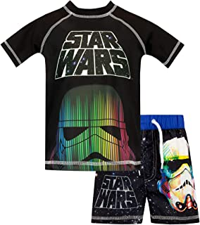 STAR WARS Boys' Stromtrooper Two Piece Swim Set