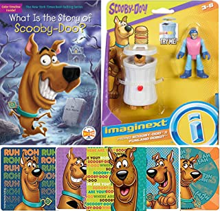 Play & Read with Scooby Ruh Roh! Imagine Funland Robot Figures Bundled with Funny Face Scooby Book What is The Story? + Bo...
