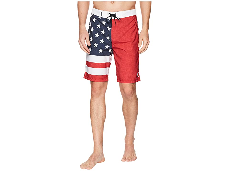 Hurley Phantom Cheers 20 Boardshorts (Gym Red) Men