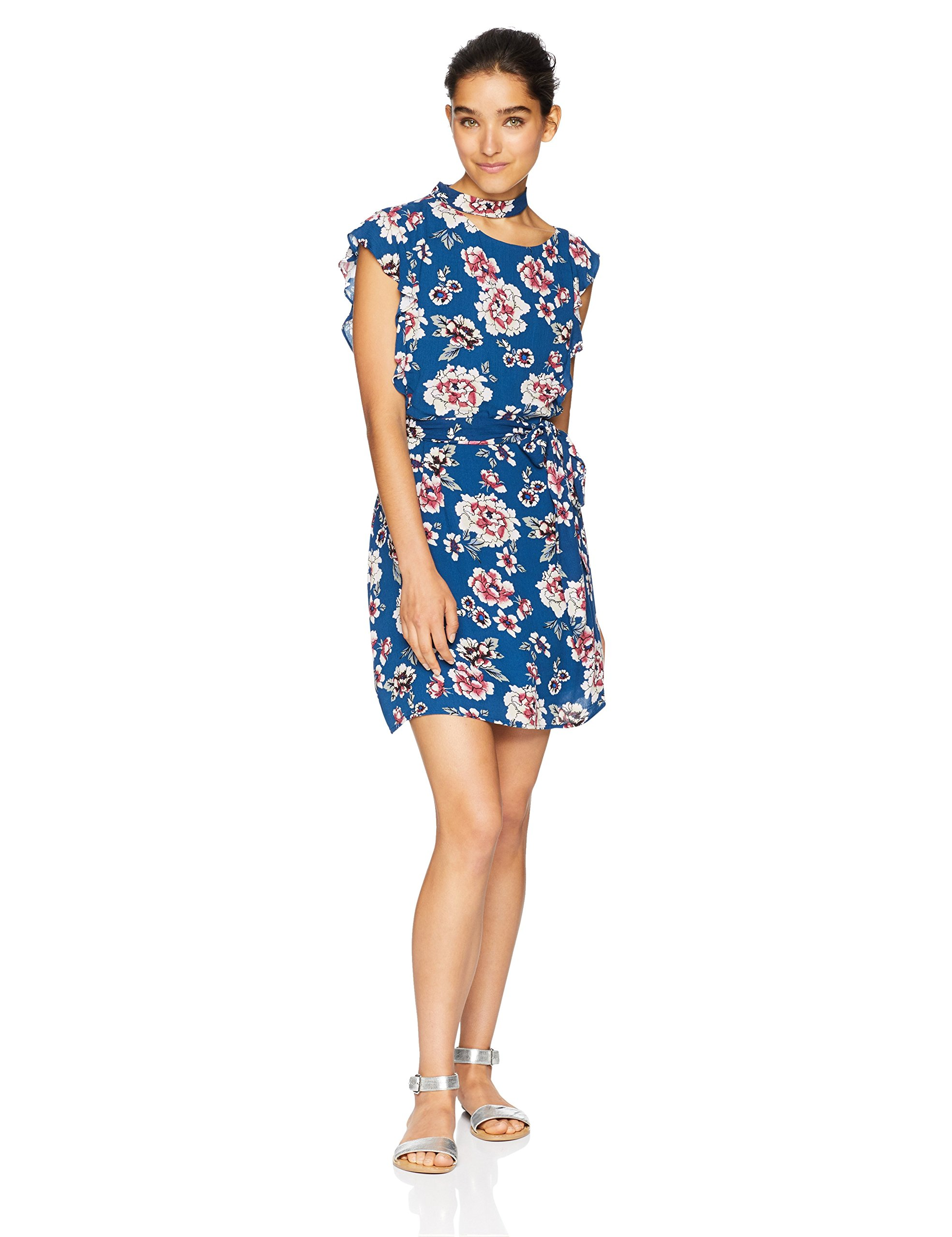 Available at Amazon: Jack Women's Kiss It Better Indigo Botanical Printed Dress